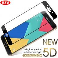 34.08 руб. |AZV 5D полное покрытие закаленное Стекло для Samsung A3 A5 A7 2017 2016 A8 плюс 2018 Экран защитный для Samsung Galaxy J3, J5, J7 2017 года купить на AliExpress