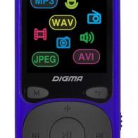 MP3 плеер DIGMA B4 flash 8Гб синий, отзывы владельцев в интернет-магазине СИТИЛИНК (1132600) - Москва