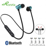 US $1.1 20% OFF|Roreta XT11 Magnetic music Wireless bluetooth earphone sport running wireless headset with Mic For iPhone 8 All Smart Phone-in Bluetooth Earphones & Headphones from Consumer Electronics on Aliexpress.com | Alibaba Group