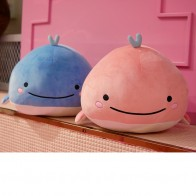 US $5.5 32% OFF|Whale Plush Soft Toy Stuffed Ultra Soft Elastic Plushie Aquatic Animals Doll Kids Ocean Plush Toy Blue Pink 15/25/40cm Boy Toys-in Stuffed & Plush Animals from Toys & Hobbies on AliExpress