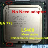405.43 руб. |Lntel Xeon L5408 2,13 ГГц/12 м/1066 МГц/Процессор равен LGA775 Core 2 Quad Q8200 Процессор, работает на LGA775 платы нет необходимости адаптер-in ЦП from Компьютер и офис on Aliexpress.com | Alibaba Group