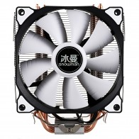 US $18.55 19% OFF|SNOWMAN CPU Cooler Master 4 Pure Copper Heat pipes freeze Tower Cooling System CPU Cooling Fan with PWM Fans-in Fans & Cooling from Computer & Office on AliExpress