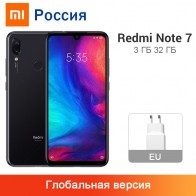 9853.7 руб. |Глобальная версия Xiaomi Redmi Note 7 3 ГБ 32 ГБ Смартфон Snapdragon 660 Восьмиядерный 4000 мАч 6,3