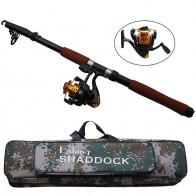 US $26.09 10% OFF|2.4m Fiberglass Telescope Baitcasting Fishing Rod And Reel Fly Fishing Casting Spinning Fishing Rods And Waterproof Bag Combo-in Fishing Rods from Sports & Entertainment on Aliexpress.com | Alibaba Group