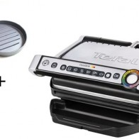 Tefal Optigrill GC702D + Hamburgerpresse