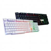 737.61 руб. 29% СКИДКА|Проводной PC Радуга Gaming Keyboard красочные трещина светодиодный с подсветкой USB # T09-in Клавиатуры from Компьютер и офис on Aliexpress.com | Alibaba Group