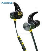 Plextone BX343 Беспроводной наушники Bluetooth IPX5 Водонепроницаемый наушник магнитных гарнитура наушники С микрофоном для телефона Спортивная наушники для телефона наушники на телефон купить на AliExpress