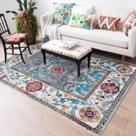 US $8.0 20% OFF|Morocco Style Anti Skid Jacquard Carpet for Living Room Floor Mat Floral Absorbent Non Slip Bohemian Turkish Retro Area Rugs-in Carpet from Home & Garden on Aliexpress.com | Alibaba Group
