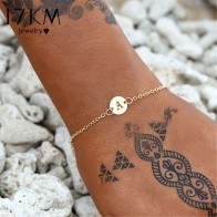 US $0.99 49% OFF|17KM Fashion Gold Color Letter Bracelet & Bangle For Women Simple Adjustable Name Bracelets Pulseras Mujer Jewelry Party Gifts-in Charm Bracelets from Jewelry & Accessories on Aliexpress.com | Alibaba Group
