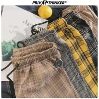 730.97руб. 40% СКИДКА|Privathinker, Харадзюку, клетчатые штаны для женщин, брюки 2019, уличная одежда, женские шаровары, осенние женские повседневные штаны размера плюс-in Штаны и капри from Женская одежда on AliExpress - 11.11_Double 11_Singles