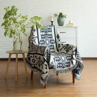 2678.79руб. 11% СКИДКА|Одеяло для дивана в Северной Европе, ковер с геометрическим рисунком для гостиной, спальни, покрывало, пылезащитный чехол, скатерть, гобелен-in Ковер from Дом и животные on AliExpress - 11.11_Double 11_Singles