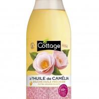 Питательный гель для душа с маслом КАМЕЛИИ Extra Nourishing Precious Oil shower  560мл, Cottage