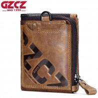 1012.61 руб. 38% СКИДКА|GZCZ мужской кошелек из натуральной кожи, модный кошелек для монет, держатель для карт, маленький кошелек для мужчин, мужской клатч на молнии, зажим для денег-in Кошельки from Багаж и сумки on Aliexpress.com | Alibaba Group