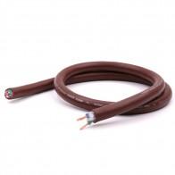 1117.64 руб. 15% СКИДКА|Hifi соединительный аудио кабель Новый коричневый крест объемный кабель питания Hi Fi 1 метр/пер on Aliexpress.com | Alibaba Group