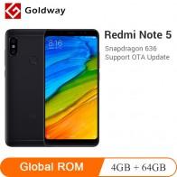 9789.83 руб. |Оригинальный Смартфон Xiaomi Redmi Note 5, 4 Гб ОЗУ, 64 Гб ПЗУ, Восьмиядерный процессор Snapdragon 636 5,99