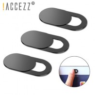 ! ACCEZZ 6 шт. чехол для веб-камеры затвор магнит слайдер пластик для iPhone веб-ноутбук ПК iPad планшет камера Мобильный телефон стикер конфиденциал...