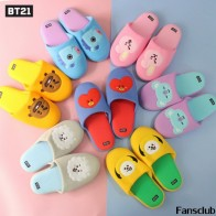 US $13.51 48% OFF|BTS BT21 Bangtan Boys Q Styles Plush Slippers Cute COOKY CHIMMY RJ Winter Warm Indoor Home Party Cotton Slipper Hoodie TX001-in Hoodies & Sweatshirts from Women