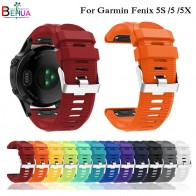 US $3.08 30% OFF|26 22 20MM Watchband for Garmin Fenix 5X 5 5S Plus 3 3HR Forerunner 935 Watch Quick Release Silicone Easyfit Wrist Band Strap-in Watchbands from Watches on Aliexpress.com | Alibaba Group