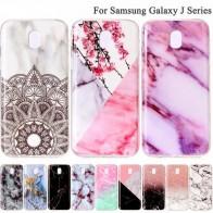 € 0.69 5% de DESCUENTO|Mármol suave TPU funda de silicona para Samsung Galaxy A3 A5 J3 J5 J7 2017 Pro J330 J530 J730 S4 S5 s6 S7 borde S8 S9 más B02-in Cajas ajustadas from Teléfonos celulares y telecomunicaciones on Aliexpress.com | Alibaba Group