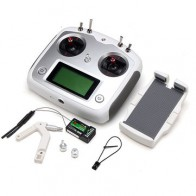 Flysky i6S FS-i6S 2.4G 10CH AFHDS 2A Transmitter With FS-iA6B Receiver for FPV RC Drone