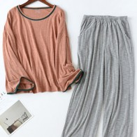 Long Sleeve Loungewear Casual 2-Piece