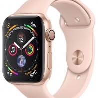 Купить Часы Apple Watch Series 4 GPS 40mm Aluminum Case with Sport Band золотистый/розовый песок по низкой цене с доставкой из маркетплейса Беру