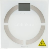 Напольные весы MEDISANA BS 444 Connect, цвет: белый