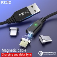 US $1.39 30% OFF|PZOZ Magnetic Cable Micro usb Type C Fast Charging Adapter Phone Microusb Type C Magnet Charger usb c For iphone Samsung xiaomi-in Mobile Phone Cables from Cellphones & Telecommunications on Aliexpress.com | Alibaba Group