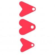 19.2 руб. 20% СКИДКА|100 шт. рыболовные приманки пластиковые красное сердце с блестками для спиннера аксессуары для приманки рыболовные приманки Спиннер рыболовное оборудование-in Наживка from Спорт и развлечения on AliExpress - 11.11_Double 11_Singles
