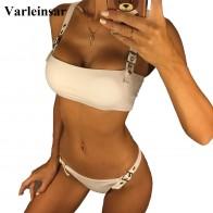 759.19 руб. 24% СКИДКА|2019 г. пикантные бикини Для женщин женский купальник из двух предметов бикини комплект без бретелек Купальщица регулируемые бретельки ванный комплект Плавание V879-in Комплекты бикини from Спорт и развлечения on Aliexpress.com | Alibaba Group