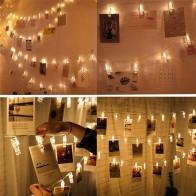 208.6 руб. 50% СКИДКА|2 м 6.5FT 1 м 3.3FT светодиодный гирлянда с зажимом для фото, сказочный светодиодный светильник с батарейками, окна, вечерние свадебные украшения-in Гирлянды светодиодные from Лампы и освещение on Aliexpress.com | Alibaba Group