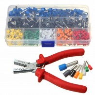 US $18.99 |800pcs Cable Wire Terminal Connector with Hand Ferrule Crimper Plier Crimp Tool Kit Set AWG 10 23-in Pliers from Tools on Aliexpress.com | Alibaba Group