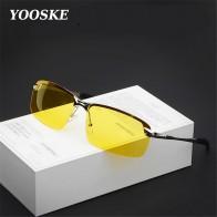 Сплав UV400 поляризационные Для мужчин водителя Ночное видение очки Солнцезащитные очки для женщин для вождения мужской вождения Защита от солнца Очки для Для мужчин с антибликовым покрытием P06-in Мужские солнцезащитные очки from Аксессуары для одежды on AliExpress - Yellow Glasses