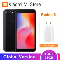 8044.59 руб. |Глобальная версия Xiaomi Redmi 6 4 Гб 64 Гб Helio P22 Octa Core cpu 5,45