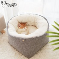 US $16.43 20% OFF|Hoopet Cat Bed Cat House Pet Dog House for Cat Bench for Cats Cotton Pets Products Puppy Soft Comfortable Winter House-in Cat Beds & Mats from Home & Garden on Aliexpress.com | Alibaba Group