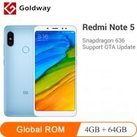 € 135.46 |Original Xiaomi Redmi Note 5 4 GB 64 GB Smartphone Snapdragon 636 Octa Core 5,99