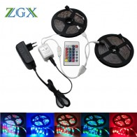 US $7.07 38% OFF|SMD 2835 RGB LED Strip light tira lamp neon 300LED Decor Flexible Tape waterproof diode ribbon 24K Controller DC 12V adapter set-in LED Strips from Lights & Lighting on Aliexpress.com | Alibaba Group
