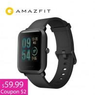 4251.25 руб. |$61.99 = $64.99  $3 КУПОН Умные Смарт часы Xiaomi Amazfit bip часы [watch] с gps  Huami Фитнес браслет Смарт часы [Smartwatch]-in Смарт-часы from Бытовая электроника on Aliexpress.com | Alibaba Group