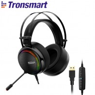 US $30.37 20% OFF|Tronsmart Glary Gaming Headset 7.1Virtual Surround Soud,USB Interface Gaming Headphones for xbox,nintendo switch,Computer,Laptop-in Bluetooth Earphones & Headphones from Consumer Electronics on Aliexpress.com | Alibaba Group