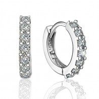 Fashion Pendientes Plata 925 Sterling Silver Women