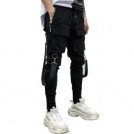 733.03 руб. 49% СКИДКА|Прямая доставка мужские тренировочные брюки Мути цепи дизайн мужские s шаровары для бега мульти карман карандаш Jogger Брюки LBZ13-in Узкие брюки from Мужская одежда on Aliexpress.com | Alibaba Group