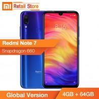 US $191.86 19% OFF|Original Global Version Xiaomi Redmi Note 7 4GB 64GB Snapdragon 660 48MP 6.3