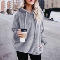 € 4.08 32% de DESCUENTO|2018 Venta caliente moda Mujer Sexy de esponjoso invierno sudaderas con capucha Mujer Sudadera con capucha Mujer WS & 40 en Sudaderas de La ropa de las mujeres en AliExpress.com | Alibaba Group