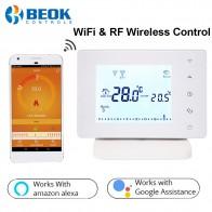 2453.46 руб. 25% СКИДКА|Beok 306 RF беспроводной и Wifi умный термостат контроллер температуры для газового котла работает с Alexa Google Home-in Умная система управления температурой from Товары для дома on Aliexpress.com | Alibaba Group