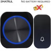 US $6.39 36% OFF|SMATRUL self powered Waterproof Wireless DoorBell night light no battery EU plug home Cordless Door Bell 1 2 button 1 2 Receiver-in Doorbells from Home Improvement on Aliexpress.com | Alibaba Group