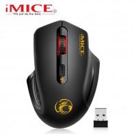 285.33 руб. 35% СКИДКА|IMice беспроводная мышь 4 кнопки 2000 dpi Mause 2,4G Оптическая USB Бесшумная мышь эргономичная мышь Беспроводная для ноутбука компьютерная мышь-in Мыши from Компьютер и офис on Aliexpress.com | Alibaba Group