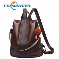 € 16.15 46% de DESCUENTO|Chuwanglin nueva mochila vintage para mujer mochila escolar informal para niñas mochila femenina de cuero estilo universitario A6166-in Mochilas from Maletas y bolsas on Aliexpress.com | Alibaba Group