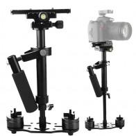 2608.71 руб. 20% СКИДКА|S40 + 0,4 м 40 см Алюминий сплав переносная стационарная камера стабилизатор для стэдикама для цифровой зеркальной камеры Canon Nikon AEE DSLR видео Камера-in Аксессуары для фотостудии from Бытовая электроника on Aliexpress.com | Alibaba Group