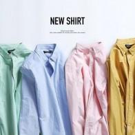 Мужские рубашки SIMWOOD, Осень-зима, новинка 2020, модные, 100% чистый хлопок, базовые, приталенные, подходящие для размера плюс, с ворсом, оксфордски... - Рубашки