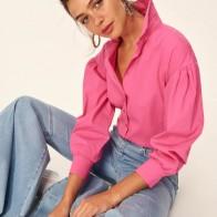 Trendyol розовый шар рукав рубашки TCLAW19YD0035 купить на AliExpress